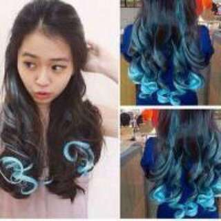 NEGO New Hairclip Korea warna biru