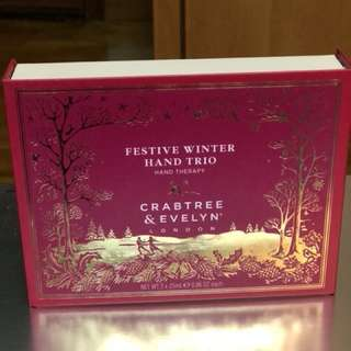 Crabtree & Evelyn London Festive Winter Hand Trio (hand cream)