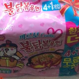 韓國三養辣雞麵 忌廉味 一包價錢