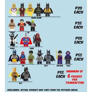 Lego-Like Marvel DC Star Wars Dragon Ball Wonder Woman Spider Man