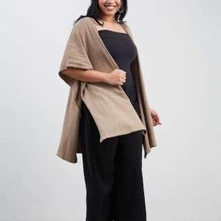 Verina Boxy Outerwear - Cream