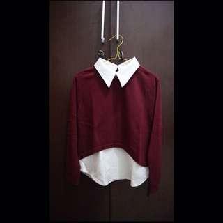 Kemeja Sweater