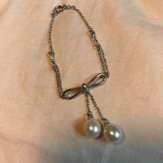 周大福珍珠手鏈