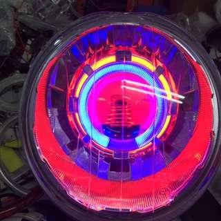 🚚 Bws 整套魚眼燈具含光圈 線組 hid 3500