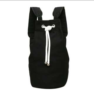 (PO) Canvas Bagpack