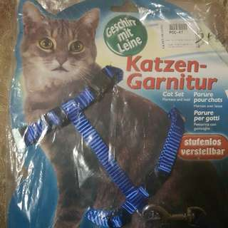 CAT SET HARNESS AND LEAD