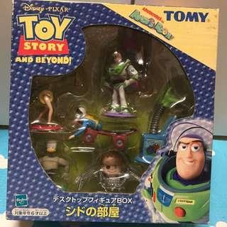 Tomy 玩具總動員 阿薛房間的玩具 阿薛 sid 嬰兒頭蜘蛛 (免運)