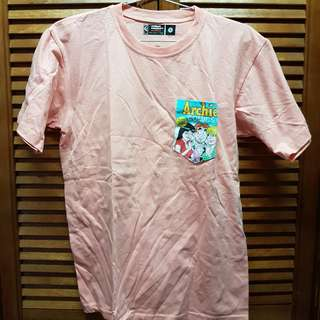 Cosmic Concept Manila Peach Archie Pocket T-shirt