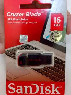 Sandisk Cruzer Blade USB Flash Drive Original 100%