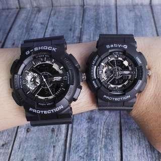 Jam tangan g shock couple