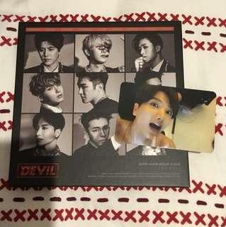 Super Junior Special album 'Devil'