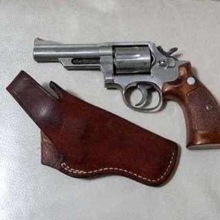 早期日本 SMG 廠 金屬Cap  槍連皮套