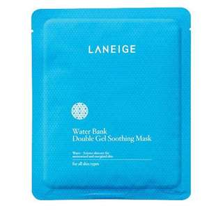 Water Bank Double Gel Soothing Mask