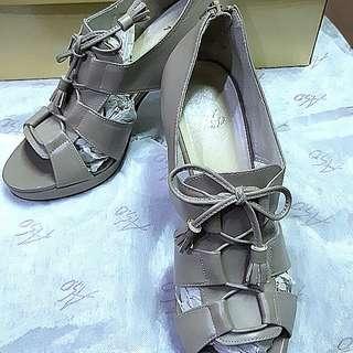 🚚 ASO阿瘦高跟鞋,裸色,隋棠代言款 (二手,僅穿兩次,原價$3635)