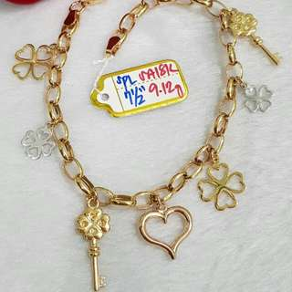 18k Saudi Gold Bracelets