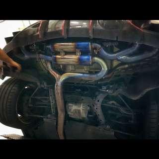 GTR R35 Full Titanium exhaust system