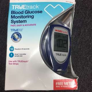CVS Health True Track Blood Glucose Monitoring System
