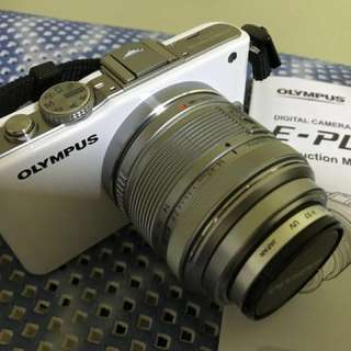 Olympus E-PL3 White (Mint, Full Working Condition)