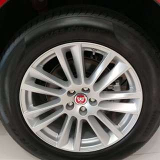 Jaguar 原裝19吋連軚,只用3個月,95%新