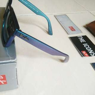 HOT ITEM SALE! 3 ITEM RAYBAN WAYFARER ,WAYFARER FOLDING (LIPAT) ,WAYFARER FORCELITE ORIGINAL LIKE NEW 99,99%