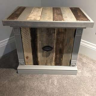 End Table - old meets new