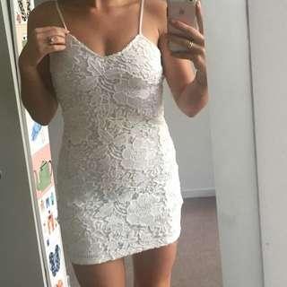 Lacey Sundays white dress size 8
