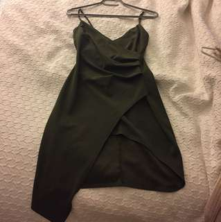 Olive M boutique asymmetrical dress