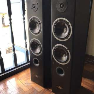 Danish Audiophile 3 way Floor-standing loudspeaker