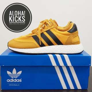 "*READY STOCK!* ADIDAS Iniki Runner Boost ""GoldenRod"" Ltd"