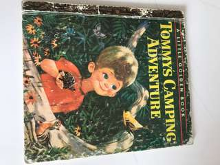 Tommy's Camping Adventure - Little Golden Book