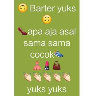 barter yuks 😊