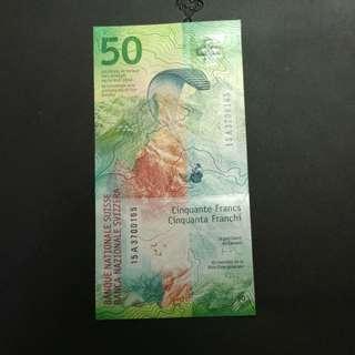 瑞士50法郎