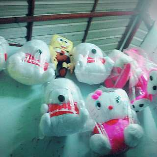 Teddy bear hello kitty dan mashimaroo