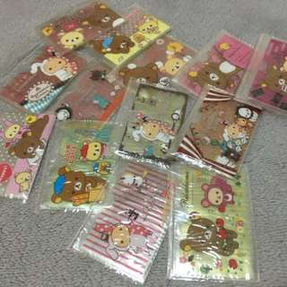 Rilakkuma and friends card holder