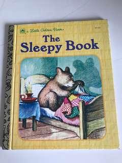 The Sleepy Book - Little Golden Book