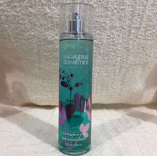 Bath And Body Works BBW EUCALYPTUS SPEARMINT Fine Fragrance Mist 236 ml