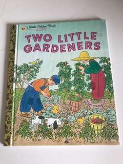 Two Little Gardeners - Little Golden Book