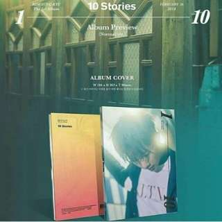 KIM SUNGGYU - 10 STORIES ALBUM