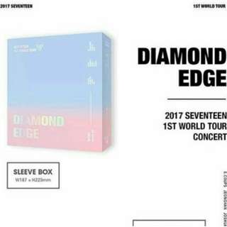 SEVENTEEN - 2017 1ST WORLD TOUR DIAMOND EDGE IN SEOUL DVD