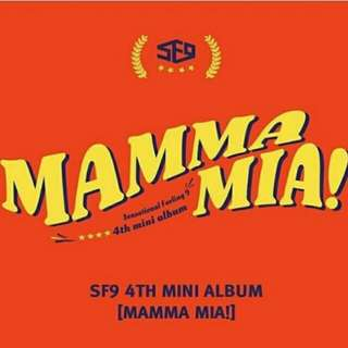 SF9 - MAMMA MIA ALBUM