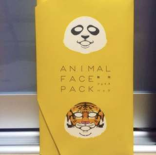 Animal Face Pack Mask