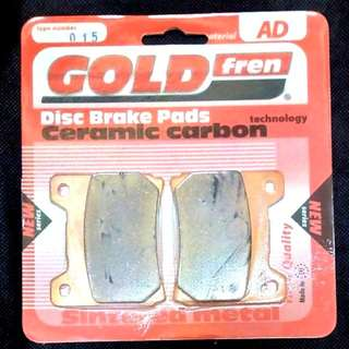 TZR125 Brake Pad RD350 RZ350 RD500 YPVS FZR