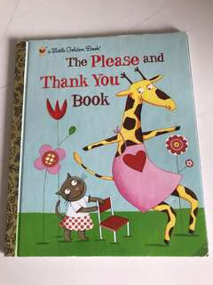 The Please And Thank You Book - Little Golden Book