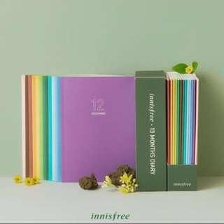 Innisfree 2018 Diary/planner
