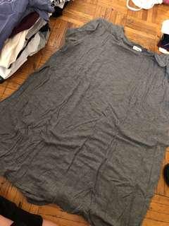 Garage slit shirt on the sides