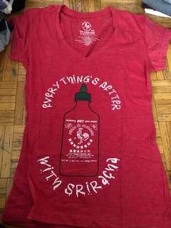 Sriracha shirt (small)