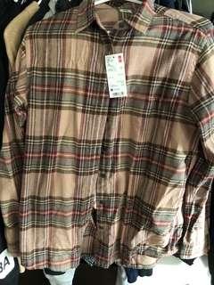UNIQLO flannel (M)
