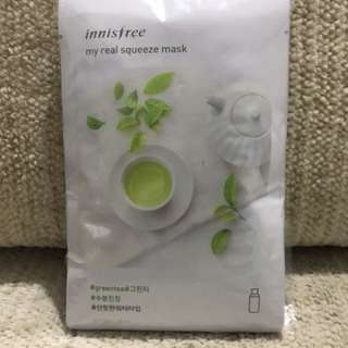 INNISFREE My Real Squeeze Mask: Green Tea
