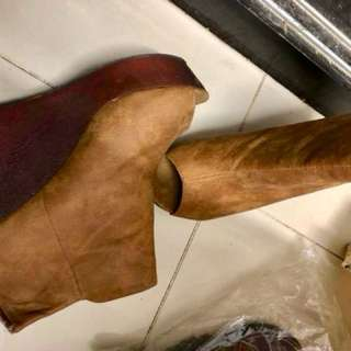 露趾船踭高跟鞋