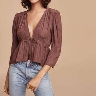 Aritzia Shanina blouse
